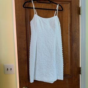 Lilly Pulitzer Shelli Stretch Dress / White